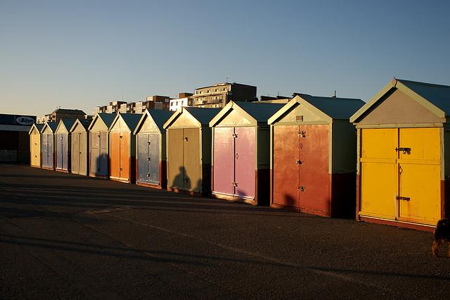 Beach huts - ©peter pearson
